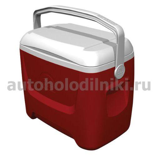 26л ЭКОНОМ Пластиковая сумка-холодильник с откидной ручкой сверху Igloo...