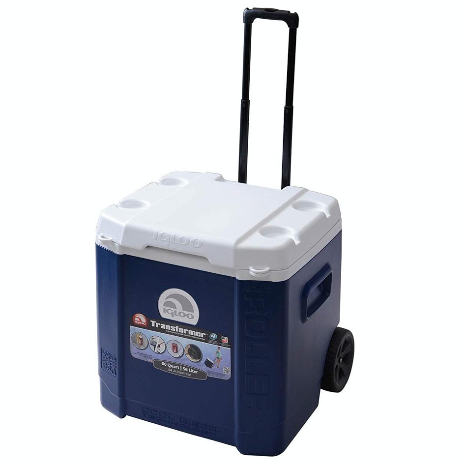 Термоконтейнер Igloo Transformer 60 Roller blue